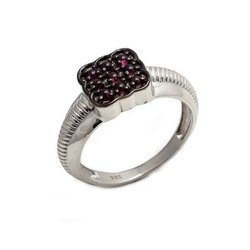 Natural Tourmaline Fine 92.5 Sterling Silver Mens Ring