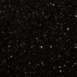 Black Galaxy Granite Slab, 10-15 Mm
