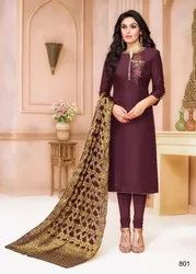 Ladies Silk Dress Material