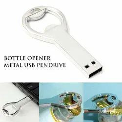 Bottle Opener Metal USB Pendrive