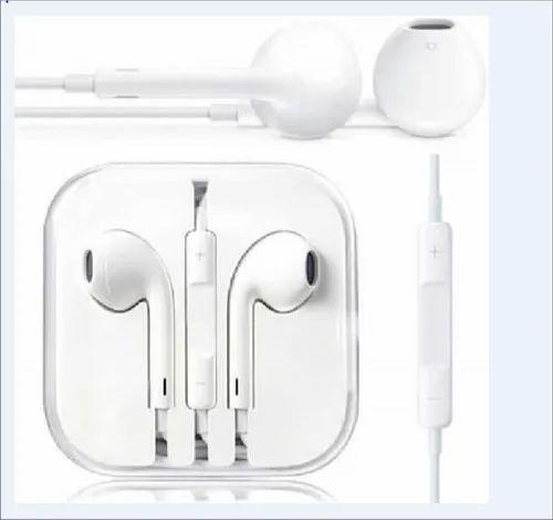 Ipone 8 Plus Headphone Earphones With Mic Compatible For Apple Iphone8 8 Plus Iphone X White Apple Earpods एप पल इयरफ न Ovantica Com Chennai Id 21652407573