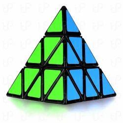 Rubiks Cube Pyraminx 3-D Brain Teaser Educational Puzzle Toy