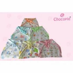 Chocopie Np-302 Infant Muslin White Printed Nappy, Age Group: 3-12 Months, Packaging Size: 3 Pcs