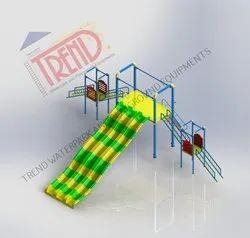7 Feet Kids Water Slide