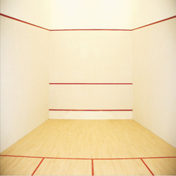 Hard Plaster System for Squash Court Walls