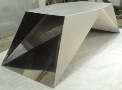 Bead Blast Surface Architectural Fabrication