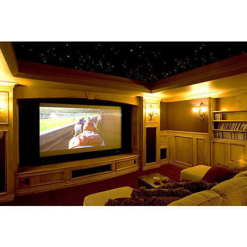 Home Theater Interior Designing Services, Modern