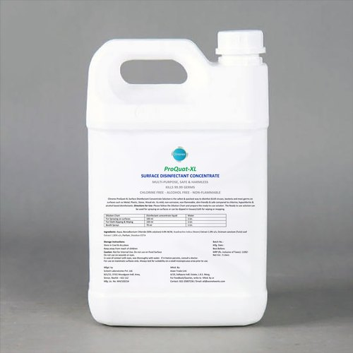 Surface Disinfectant Liquid Concentrate 5 Liters