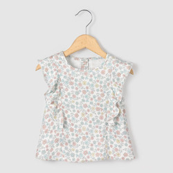 Cap Sleeve Baby Girl 100% Organic Cotton Knitted Girls Sleeveless Top, Size: Small