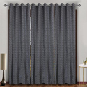 Hochwertig Decor Printed Curtain, Length: 7-8 Feet