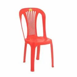 Modern Supreme Dove Red Living Room Chair, Back Style: Tight Back