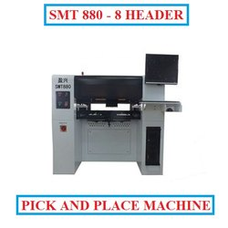 Pick and Place Machine SMT880 with Inline Conveyor