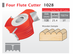 Four Flute Cutter