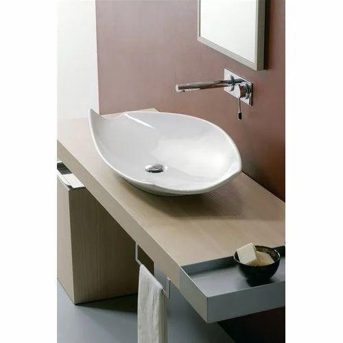 Ceramic White Fancy Wash Basin Rs 3140 Piece Bk Trading Co Id 19188044655