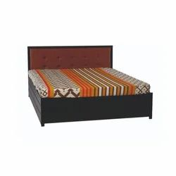Metal Queen Size Bed With Storage Box