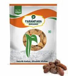 Parampara Organic Yellow Dry Dates (Khaarik), Packaging Type: Pouch, Packaging Size: 500 g