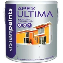Asian Paints High Gloss Apex Ultima Waterproof Exterior Emulsion Paint, Packaging Type: Bucket, Packaging Size: 20 Litre