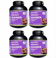 4.4 lb Chocolate Flavour Pack of 4 Zemaica Healthcare Weight Gainer Powder