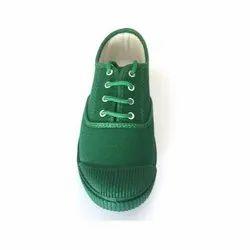 Pozo Green Boys School Shoes