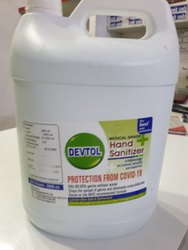 Devtol Sanitizer 5 Litre 99.9% Germ Protection