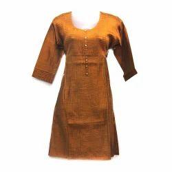 Pintex Cotton Dress Material