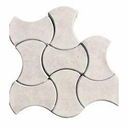Cement Floor Interlocking Tile, Thickness: 40 mm