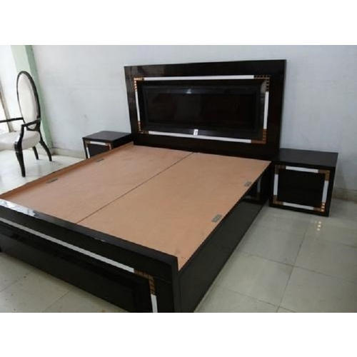 Bedroom Furniture Designs Pictures In India Grey Bedroom Colour Combination Bedroom Design With Tiles Bedroom Interior For Boys: Plywood Brown Double Bed, Size: 6 X 6.5 Feet, Rs 1000
