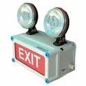 X-Lite Non-Metallic Emergency Light with Exit - Halogen Model (Outdoor)