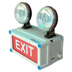 X-Lite Non-Metallic Emergency Light with Exit - Halogen model (Outdoor)