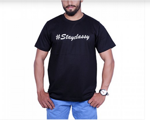 Sv Funky Tees Stay Classy T Shirt at Rs 499  unit  a0be16fabc0d