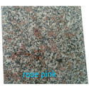 Rr Granites Rose Pink Granite Slab, For Flooring