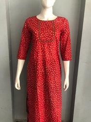 Embroidered Designer Kurti