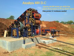 atchaya 480/D.C Wire Cut Clay Brick Machine
