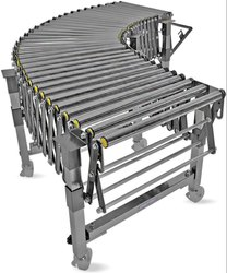 Flexible Gravity Roller Conveyor