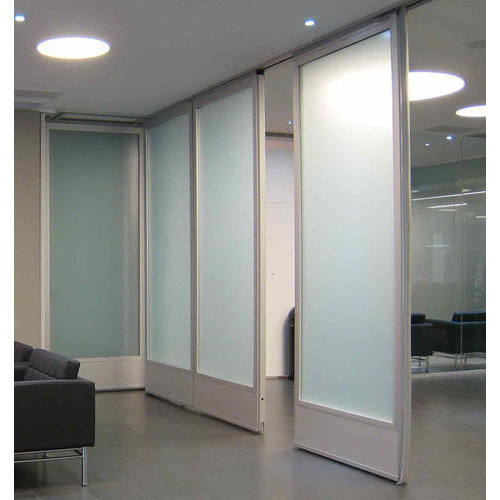 Aluminium And Glass Modular Wall Partition For Office Rs