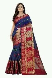 Banarasi Cotton Silk Women Saree