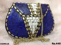 Trendy Mosaic Clutch