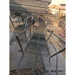 Mild Steel Staircase Ladder Fabrication