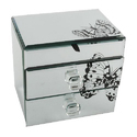 Designer Glass Jewellery Box