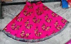 Brocade Reversible Skirt