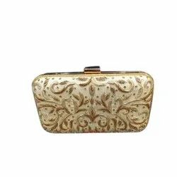 Leather Ladies Fancy Hand Purse