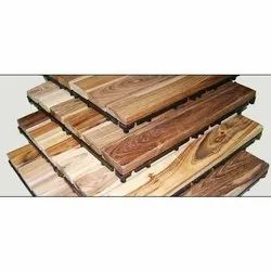 Teak Wooden Decking Flooring Service