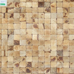 Globentis Coconut Mosaic Tile, Size: 300x300mm, Thickness: 12 - 14 mm