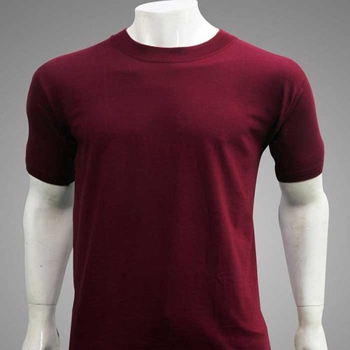 299f35379 Mens Plain T-Shirt at Rs 75 /piece | Men Plain T Shirt | ID: 14971344612