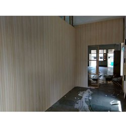 10feet Wooden Office Room Wall Panel, Thickness: 5.5mm To 9.0mm