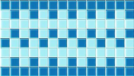 Swimming Pool Glass Mosaic Border Tile