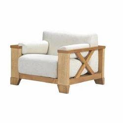 Aviator Vintage Industrial Single Seater Sofa
