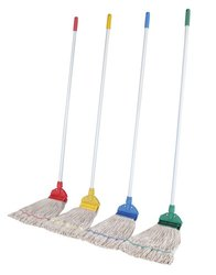 Polyester Cotton Wet Mop Set for Floor Cleaning, Size: 6 inch