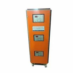 Voltsmart Three Phase Air Cooled Servo Voltage Stabilizer 6 kva, 400 V, For Industrial/Domestic