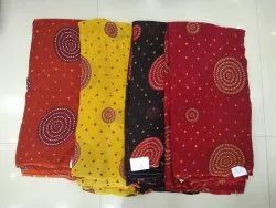 44-45 4 Color georgette fabric, For Garments, GSM: 50-100